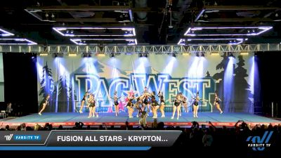 Fusion All Stars - Kryptonite [2020 L3 Senior - Small Day 2] 2020 PacWest