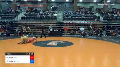 116 lbs Quarterfinal - Aphrodite Ayala, Simpson University vs Stefana Jelacic, Lourdes