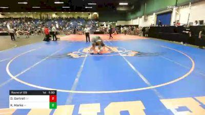 160 lbs Prelims - Dezmonde Gartrell, OH vs Kole Marko, WI