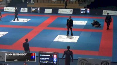 RAMIN BEISSEMBEKOV VS ZANALLAH 2017 Abu Dhabi Grand Slam No-Gi