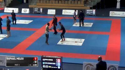 NICHOLAS ROBINSON VS FLAVIO ALESSANDO 2017 Abu Dhabi Grand Slam No-Gi