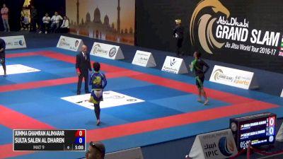 J. ALIMARAR VS. S. AL DHAREN 2017 Abu Dhabi Grand Slam