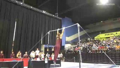 Christian Jennings - High Bar, Arizona State - 2021 Men's Collegiate GymACT Championships