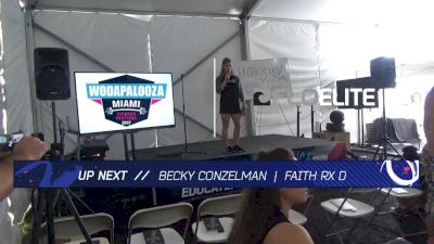 WZA Experience Stage Becky Conzelman Sunday