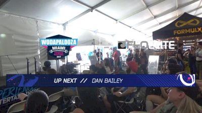 WZA Experience Stage Dan Bailey