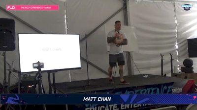 WZA Experience Stage Matt Chan Sunday