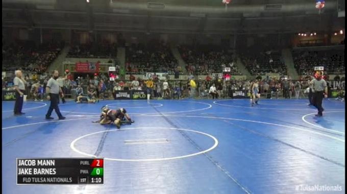 82 Round of 32 - Jacob Mann, Purler Wrestling vs Jake Barnes