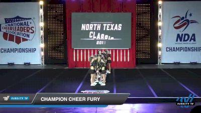 - Champion Cheer Fury [2019 Senior 4 Day 1] 2019 NCA North Texas Classic