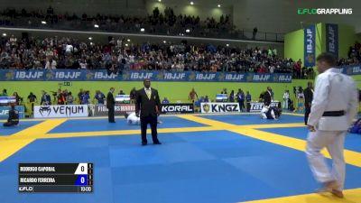 Rodrigo Caporal vs Ricardo Envagelista IBJJF 2017 European Championships