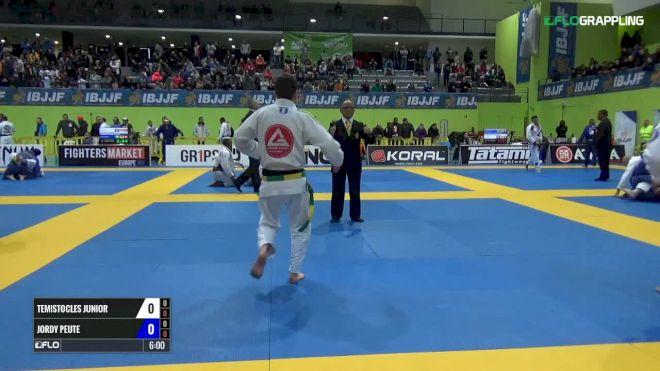 Temistocles Junior vs Jordy Peute IBJJF 2017 European Championships