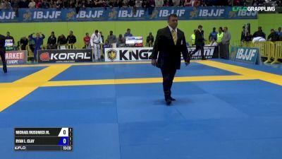 Michael Musumeci vs Ryan L.Clay IBJJF 2017 European Championships