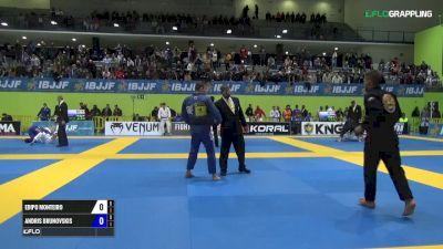 Edipo Monteiro vs Andris Brunovskis IBJJF 2017 European Championships