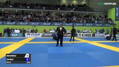 Ross Nicholls vs Ilke Bulut IBJJF 2017 European Championships