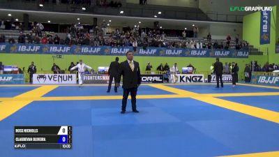 Ross Nicholls vs Claudevan Oliveira IBJJF 2017 European Championships