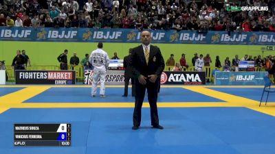 Matheus Spirandelli vs Vinicius Ferreira IBJJF 2017 European Championships