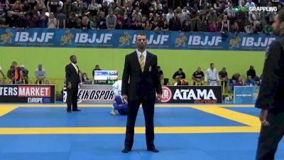 Matheus Spirandelli vs Arturo Espies IBJJF 2017 European Championships