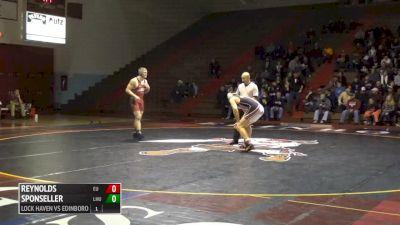 197 lbs Tristan Sponseller, LHU vs Dylan Reynolds, Edinboro