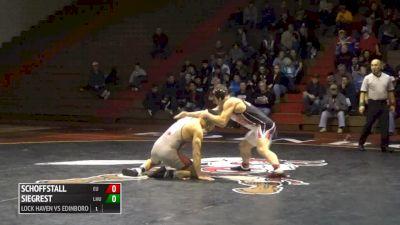 174 lbs Adam Mackie, LHU vs Ty Schoffstall, Edinboro
