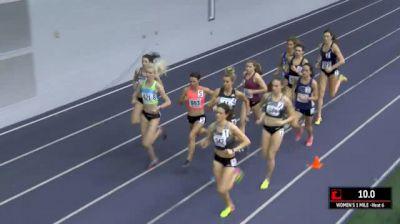 Women's Mile, Round 1 Heat 6 - Brie Felnagle Runs World Lead, Kate Grace Wears Nike