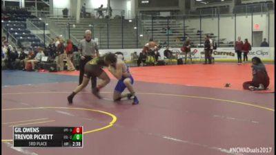 174 3rd Place - Gil Owens, #4 Apprentice vs Trevor Pickett, #3 Grand Valley