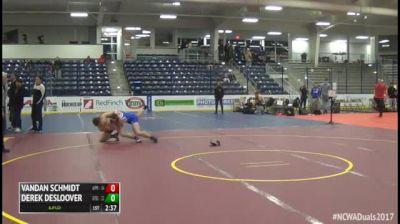 197 3rd Place - Vandan Schmidt, #4 Apprentice vs Derek Desloover, #3 Grand Valley