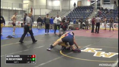 197 Finals - Austin Amos, #2 Liberty vs Maveric Rechsteiner, #1 Emmanuel