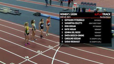 Women's 1k, Heat 1