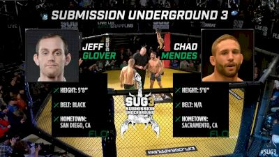 Jeff Glover vs Chad Mendes Submission Underground 3