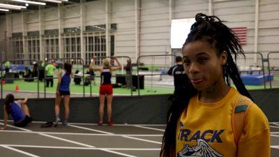 Chanel Brissett wins 55m Dash