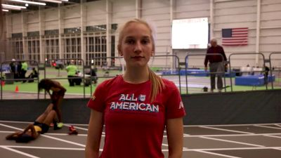 Jess Lawson 2nd Race of the Indoor Season