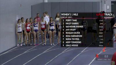 Women's Mile, Heat 3