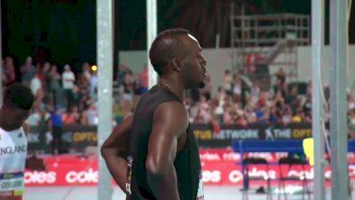 Mixed 4x100m Relay, Final - Usain Bolt flies on second leg