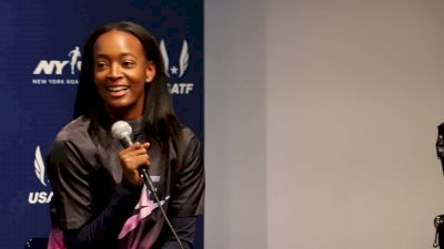 Dalilah Muhammad hasn't run at the Armory since college
