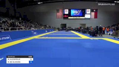 MASON KLEINFEILD vs RAFAEL DE OLIVEIRA 2021 World IBJJF Jiu-Jitsu No-Gi Championship
