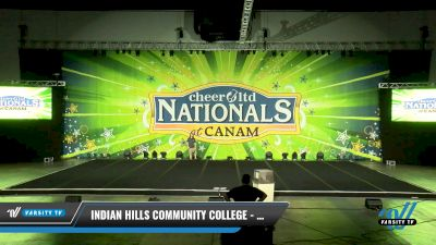 Indian Hills Community College - Warriors [2021 Open Hip Hop Elite Day 1] 2021 Cheer Ltd Nationals at CANAM