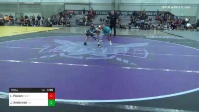115 lbs Consolation - Laylee Pasion, Grapplers Hi vs Jaymie Anderson, Team Valley Wrestling Club