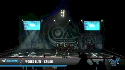 World Elite - Crush [2021 L6 International Open - NT Day 1] 2021 COA: Midwest National Championship