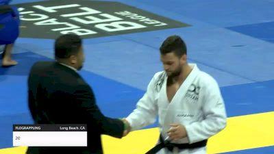 MATHEUS SPIRANDELI vs GUSTAVO BATISTA 2019 World Jiu-Jitsu IBJJF Championship