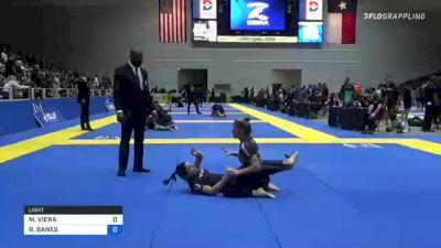 MARIANA VIERA vs RACHEL BANES 2021 World IBJJF Jiu-Jitsu No-Gi Championship