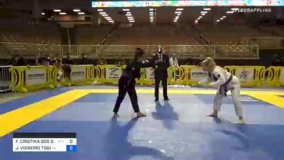 FERNANDA CRISTINA DOS S. GALEANO vs JULIANA VIDREIRO TOGI 2020 World Master IBJJF Jiu-Jitsu Championship