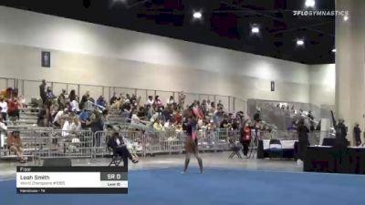 Leah Smith - Floor, World Champions #1055 - 2021 USA Gymnastics Development Program National Championships