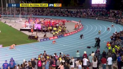 Mixed 4x100m Relay, Final - Bolt All-Stars Win And Clinch Team Title!