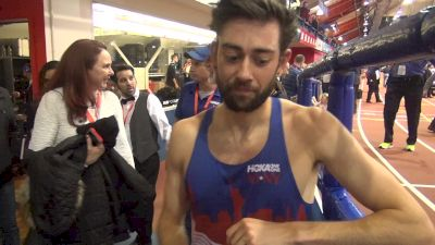 Kyle Merber 'went for it' happy with his 3rd place finish