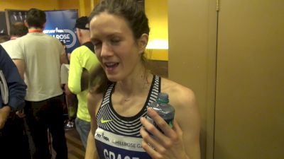 Kate Grace happy with big mile PB talks about 1500 vs 800