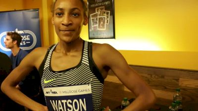 Sammy Watson breaks 42-year-old national record for 800