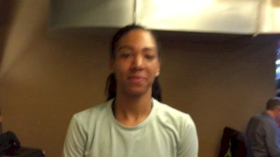 Charlene Lipsey's life has changed since training with Ajee Wilson