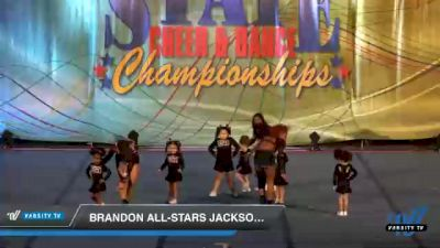 Brandon All-Stars Jacksonville - Citrus [2021 L1 Tiny - Novice - Restrictions Day 1] 2021 The STATE DI & DII Championships