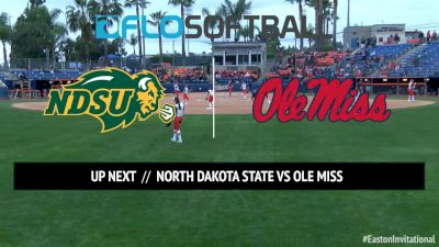 NDSU vs. Ole Miss, 2017 Easton Invitational