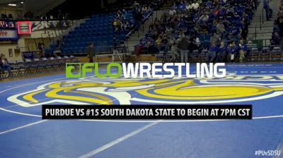 125lbs - Ben Thornton, Purdue vs Ben Gillette, SDSU