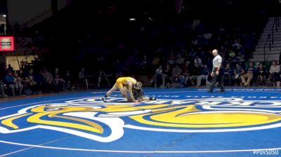 141kbs - Kyle Ayersman, Purdue vs Henry Pohlmeyer, SDSU